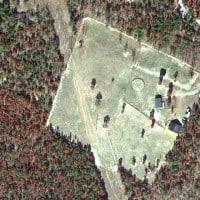 Aiken Horse Farm for Sale - Aerial View
