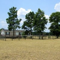 front of house - Aiken Horse Farm for Sale