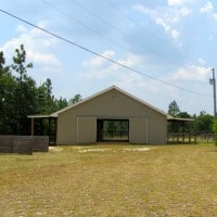 front of barn2 - Aiken Horse Farm for Sale